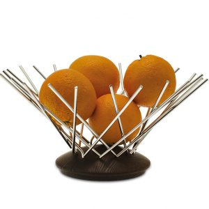 Fruit basket made in Italy by LegnoArt