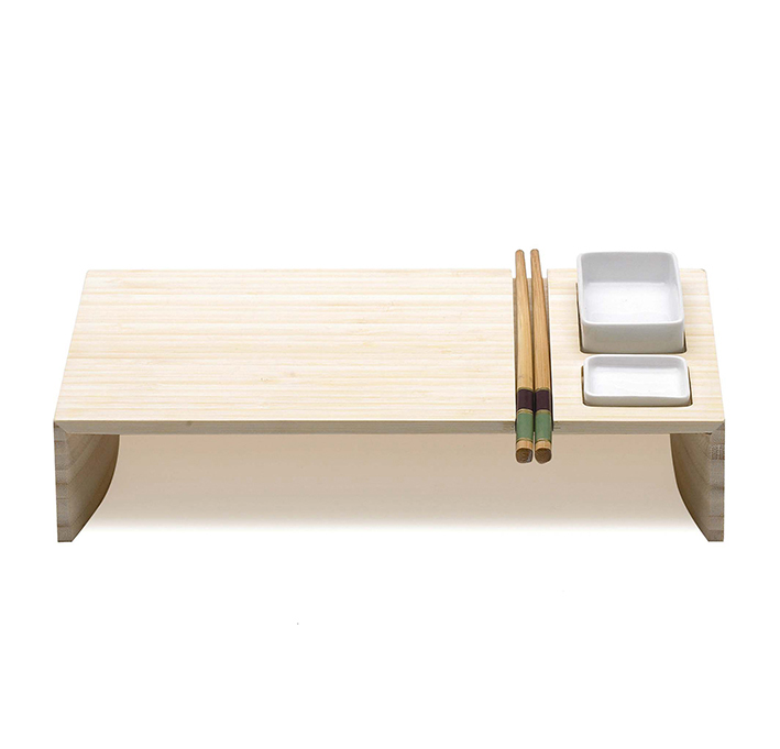 Sushi serving tray by LegnoArt