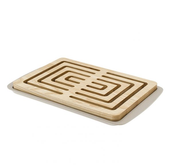 Bread wood cutting board made in Italy by LegnoArt