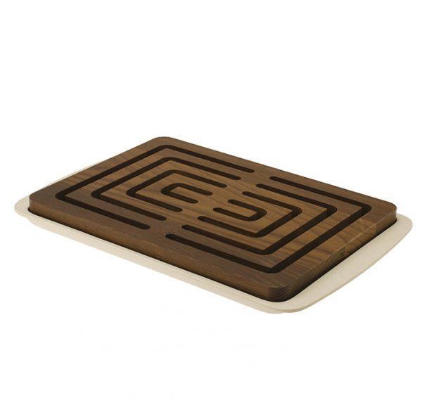 Bread wood cutting board made in Italy by LegnoArt