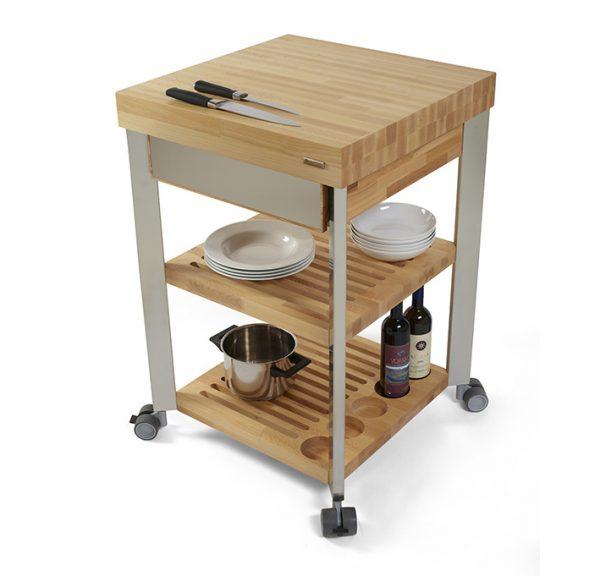 kitchen cart wood board by LegnoArt