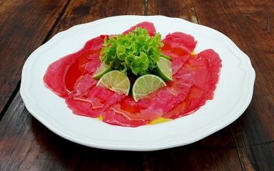 Carpaccio, simple and aristocratic