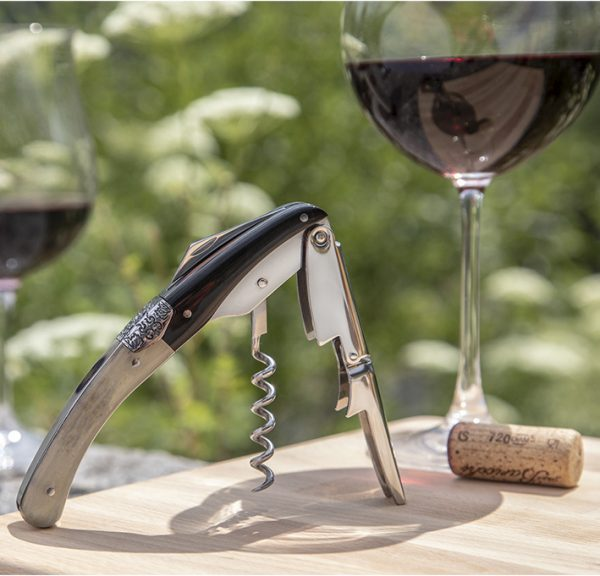 corkscrew wine bottle opener Legnoart