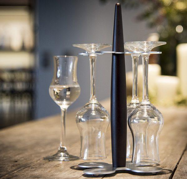 grappa glass holder Legnoart