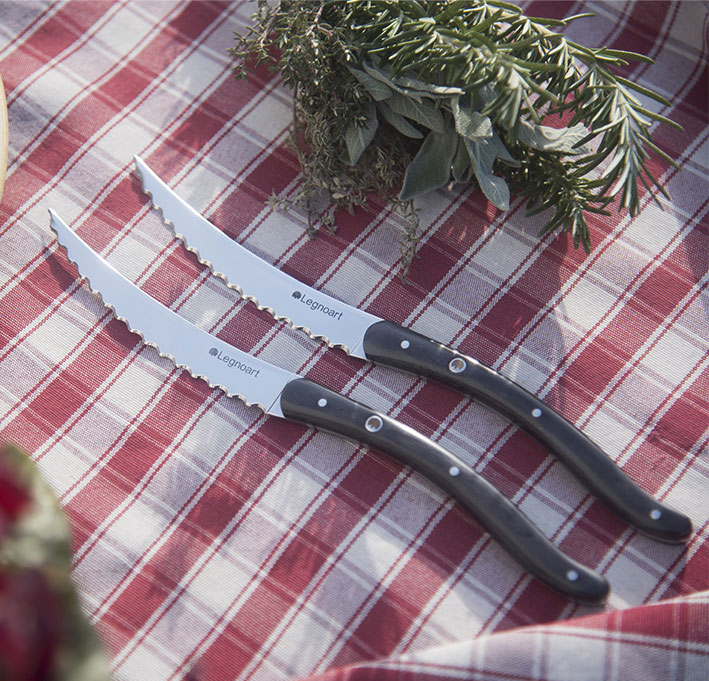 Steak Knife Set Quot Wagyu Quot In Stainless Steel By Legnoart