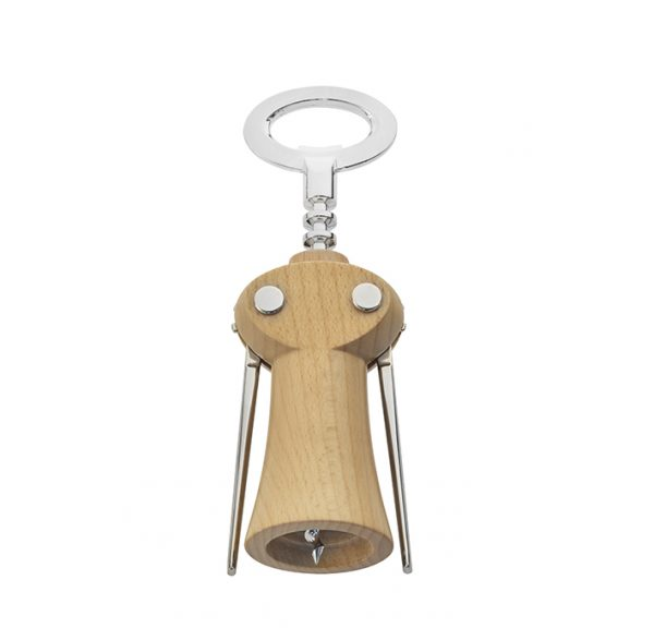 Winged corkscrew, wine bottle opener by Legnoart